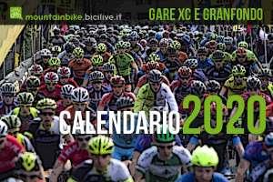Calendario delle gare Granfondo mtb e Cross Country 2020 in Italia