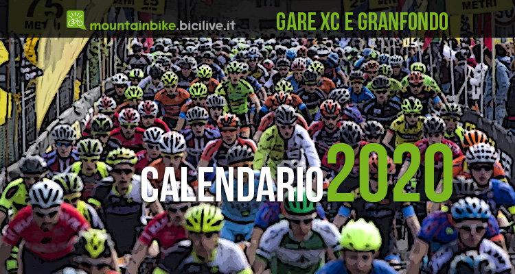 Calendario delle gare Granfondo mtb e Cross Country 2020 in Italia