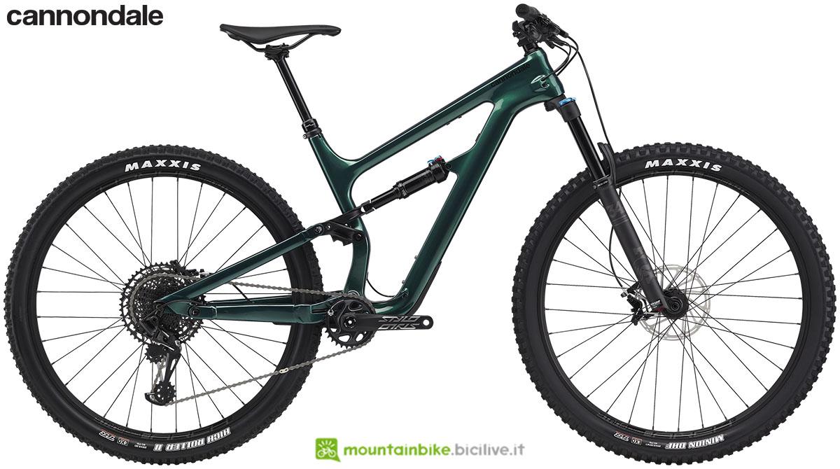 Una mountain bike Habit Carbon 3 gamma 2020