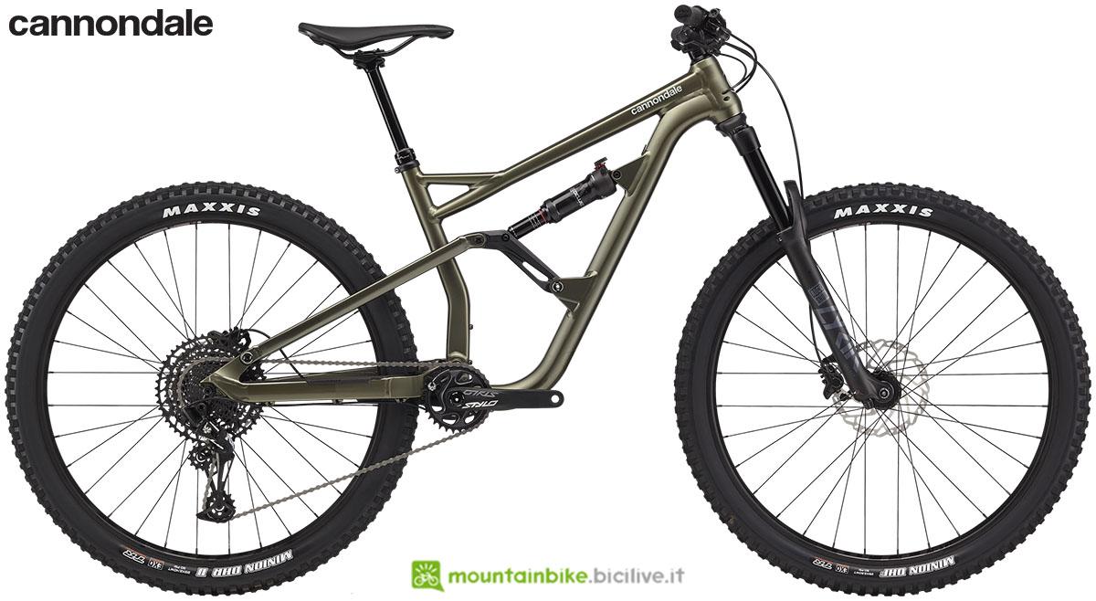 Una mountain bike Cannondale Jekyll dal catalogo 2020