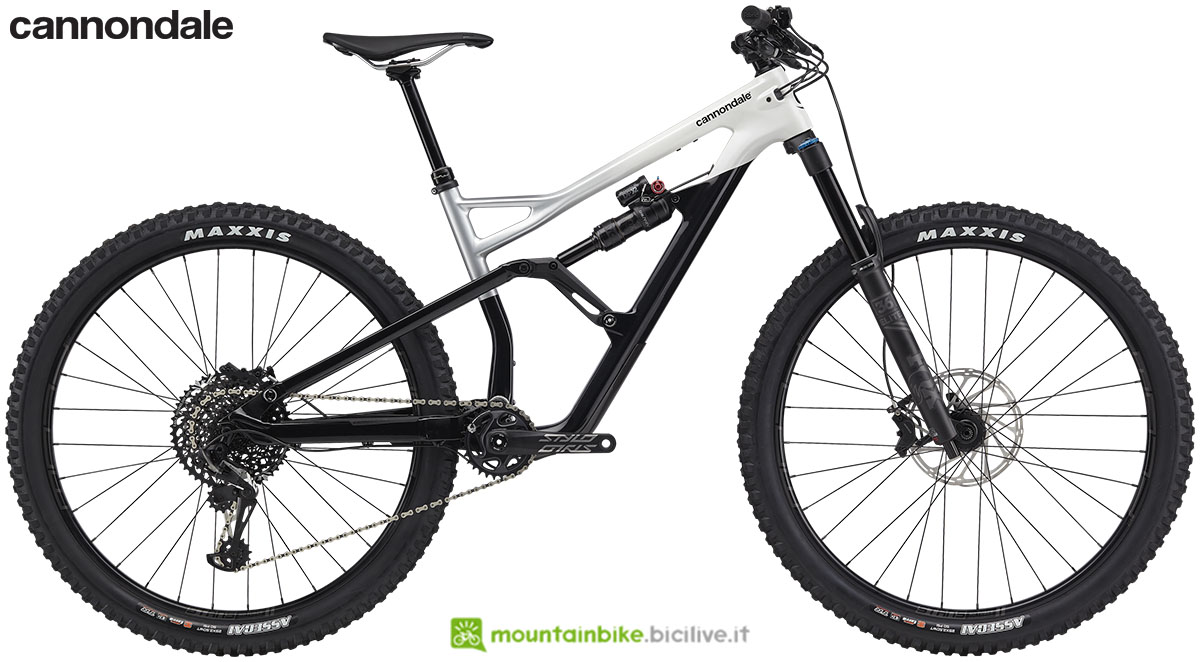 Una mtb full suspended Cannondale Jekyll Carbon 29 2 gamma 2020