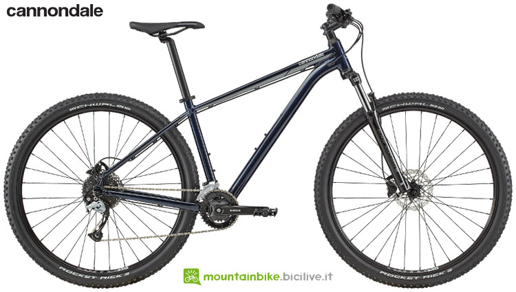 Una mtb front suspended Cannondale Trail 7 gamma 2020