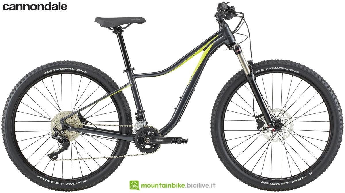 Una mountain bike da donna Cannondale Trail Women's 2 dal catalogo 2020