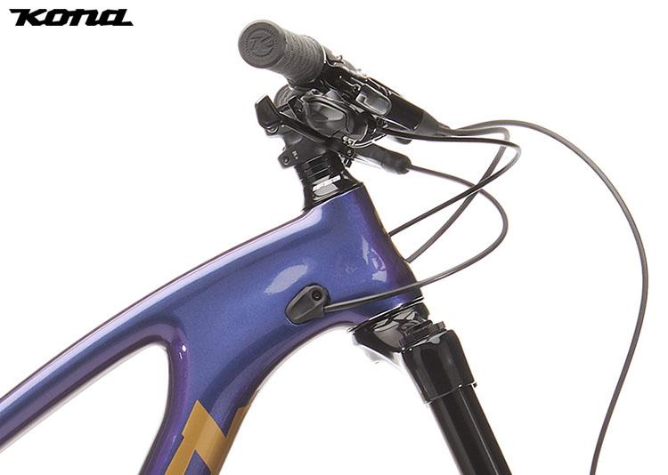 "La bici mtb Kona Process 153 CR/DL 29"" con montato il manubrio Kona XC/BC 35 2020"