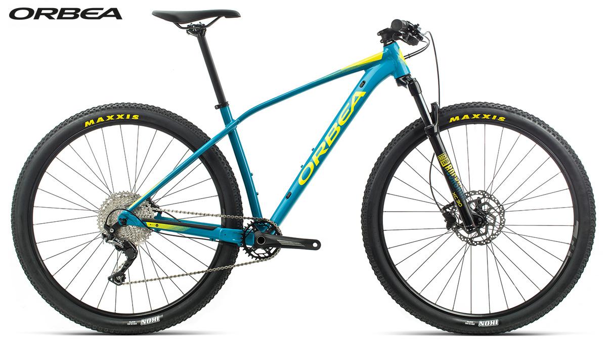 Una mountain bike hardtail Orbea Alma H50