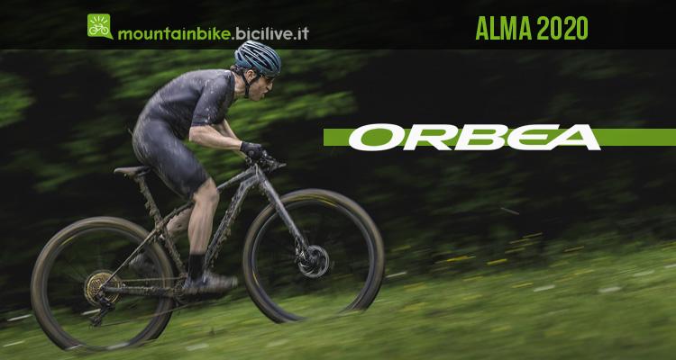 Orbea Alma 2020: linea mtb hardtail da Cross Country