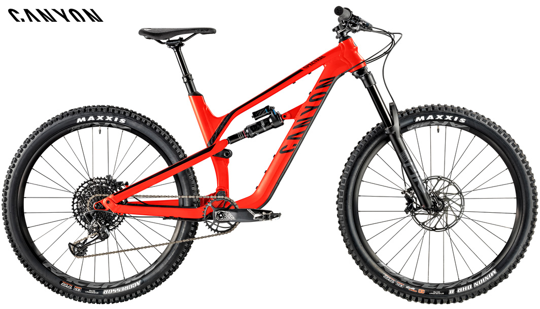 Una mountainbike full Canyon Spectral AL 5.0 gamma 2020