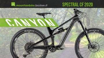 Canyon Spectral CF e Spectral AL 2020: mtb trail all mountain