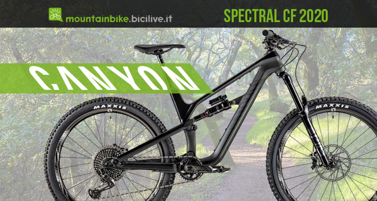 Canyon Spectral CF e Spectral AL 2020: mtb trail all mountain