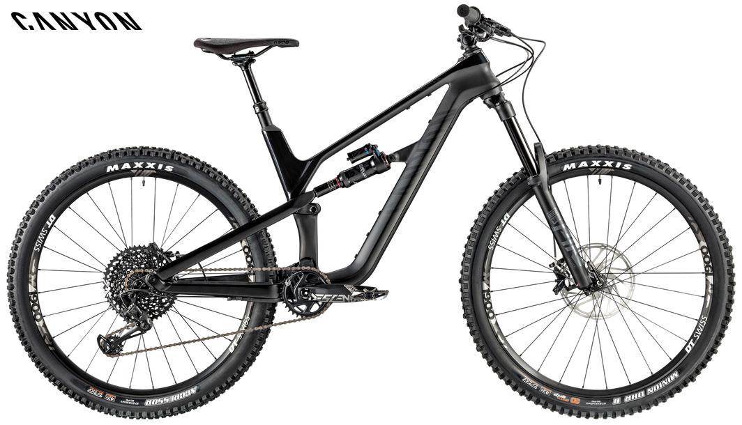 Una bicicletta Canyon Spectral CF 7.0 dal catalogo 2020