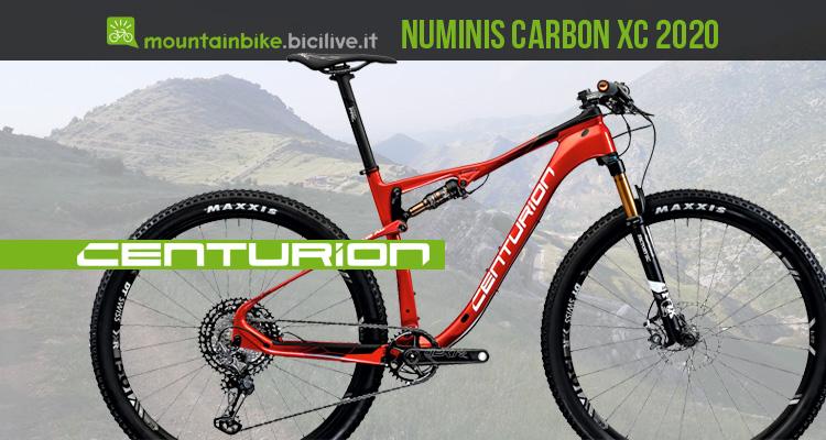 Centurion Numinis Carbon XC 2020: mtb biammortizzata