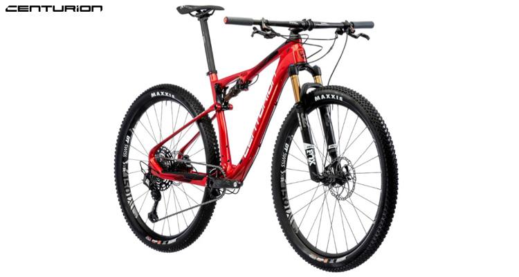 Una mountain bike biammortizzata Centurion Numinis Carbon XC Team 2020