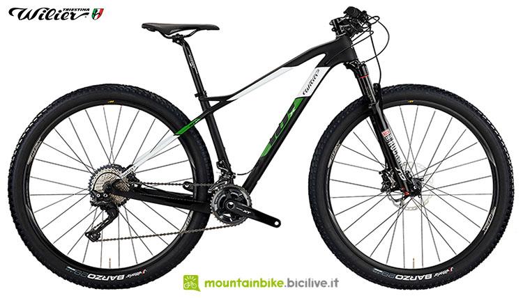 Una bici mtb Wilier Triestina 101X 2020