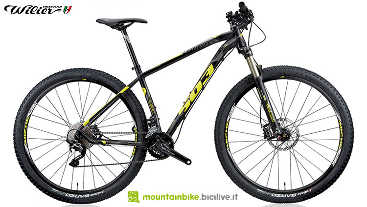 Una bici mtb Wilier Triestina 503X 2020