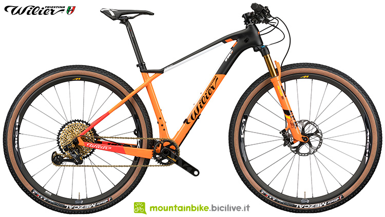 Una bici mtb Wilier Triestina 110X 2020