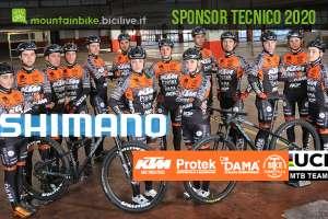 Shimano Italia sponsor tecnico team mtb KTM Protek Dama