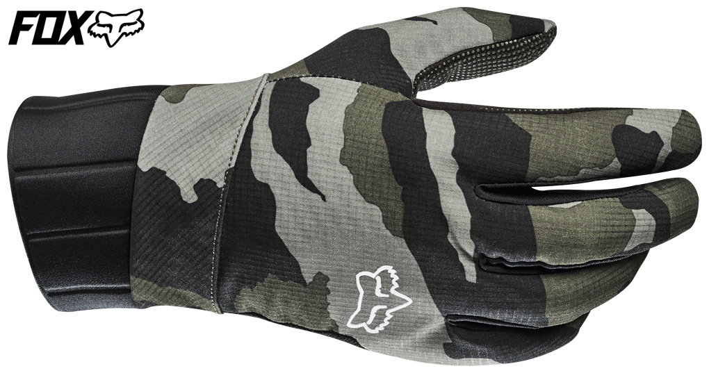 Guanto per mountain bike modello Deefend Pro Fire Glove mimetico