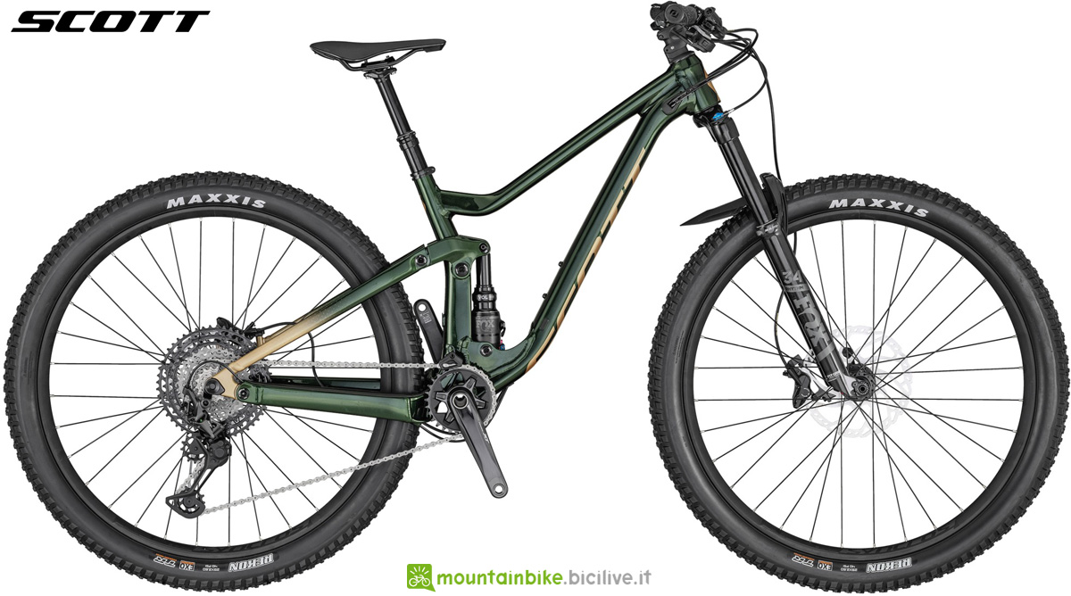 Una mtb full suspended per rider donne Scott Contessa Genius 910
