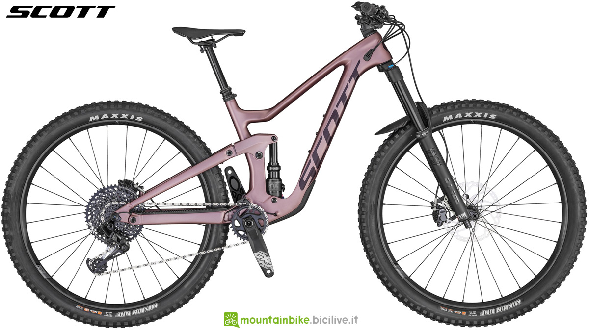 Una mtb full suspended da donna Scott Contessa Ransom 910