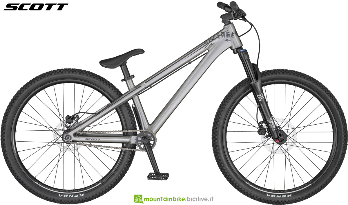 Una mtb da dirt Scott Voltage YZ 0.1 gamma 2020