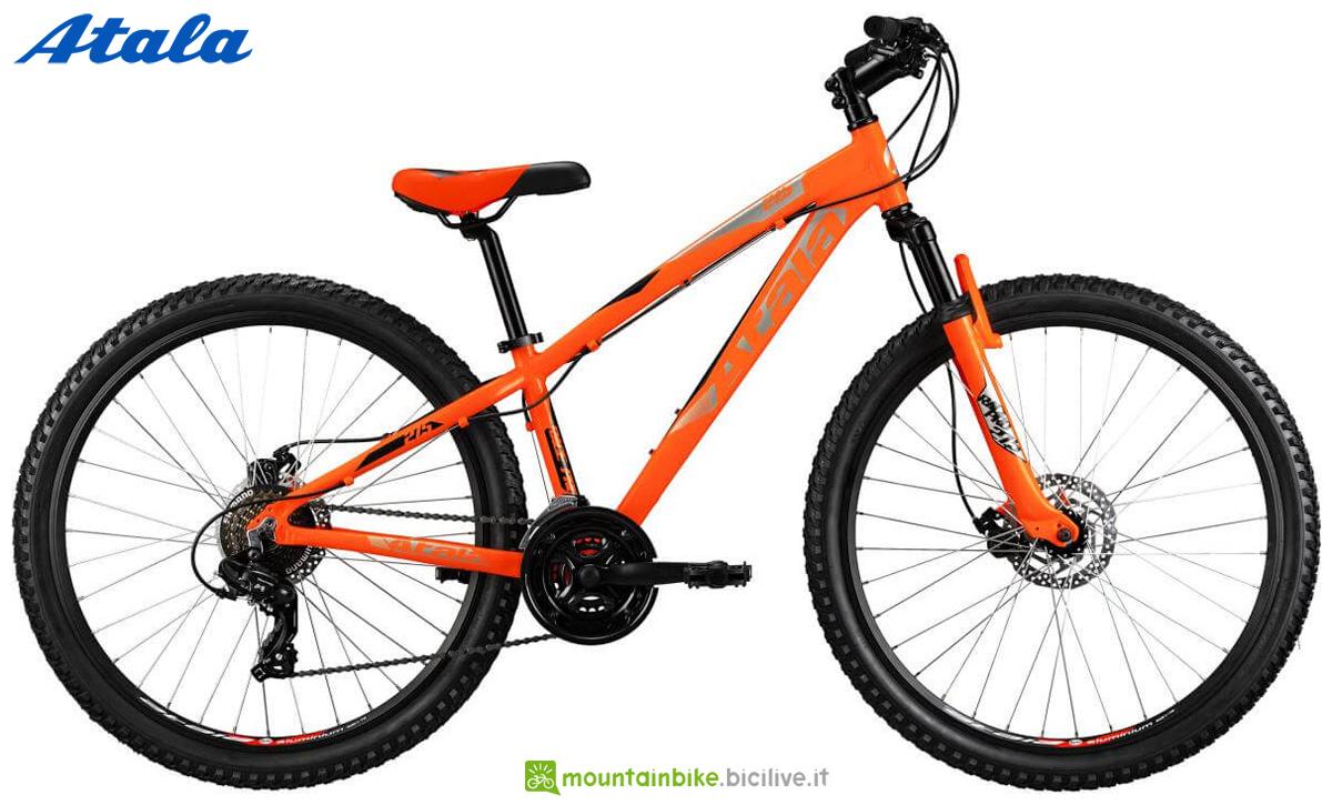 Una mountain bike Atala Race PRO 27,5 MD catalogo 2020