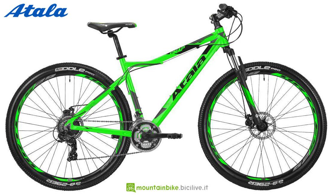 Una mountain bike Atala SNAP 29 21V HD gamma 2020