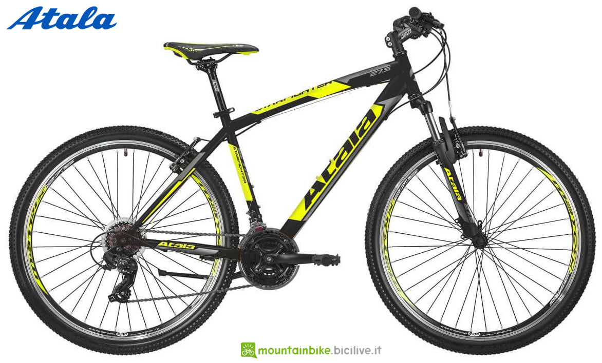 Una mountain bike front suspended Atala Starfighter 27,5