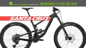 Santa Cruz Megatower 1 C S-Kit Coil, blackout 2020