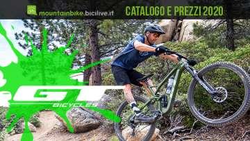 GT Bicycles mtb 2020: catalogo listino prezzi mountain bike