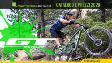 Tutte le mountain bike GT Bicycles 2020: catalogo e listino prezzi