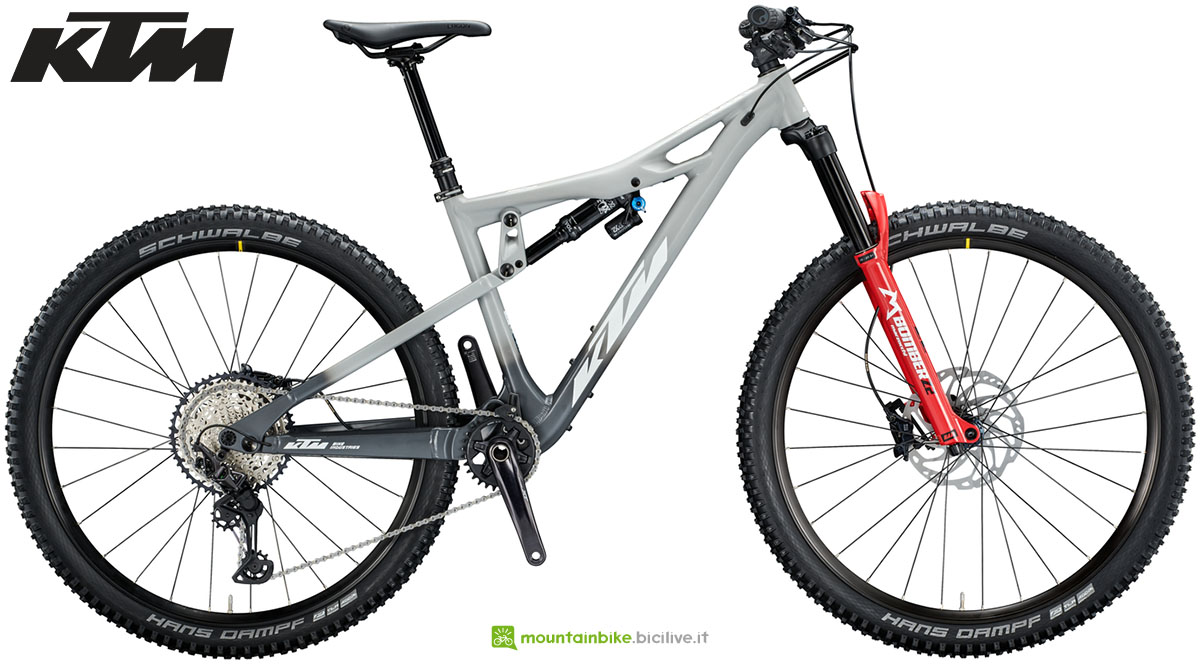 Una mountain bike KTM PROWLER 291 2020