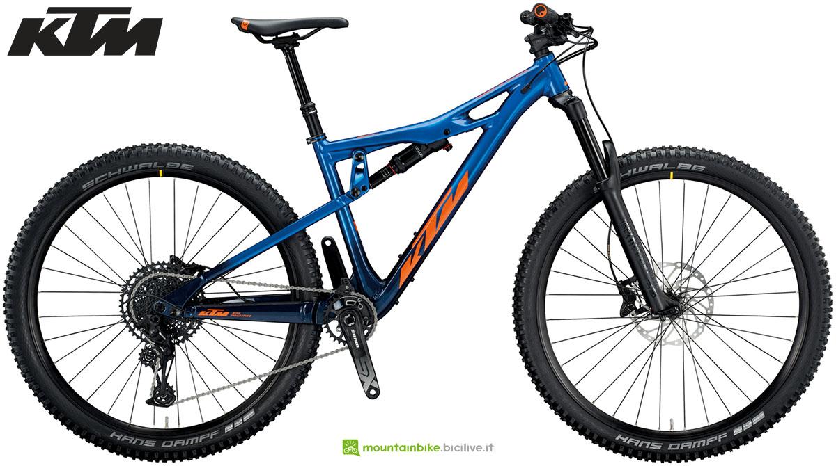 Una mountain bike KTM PROWLER 292 2020