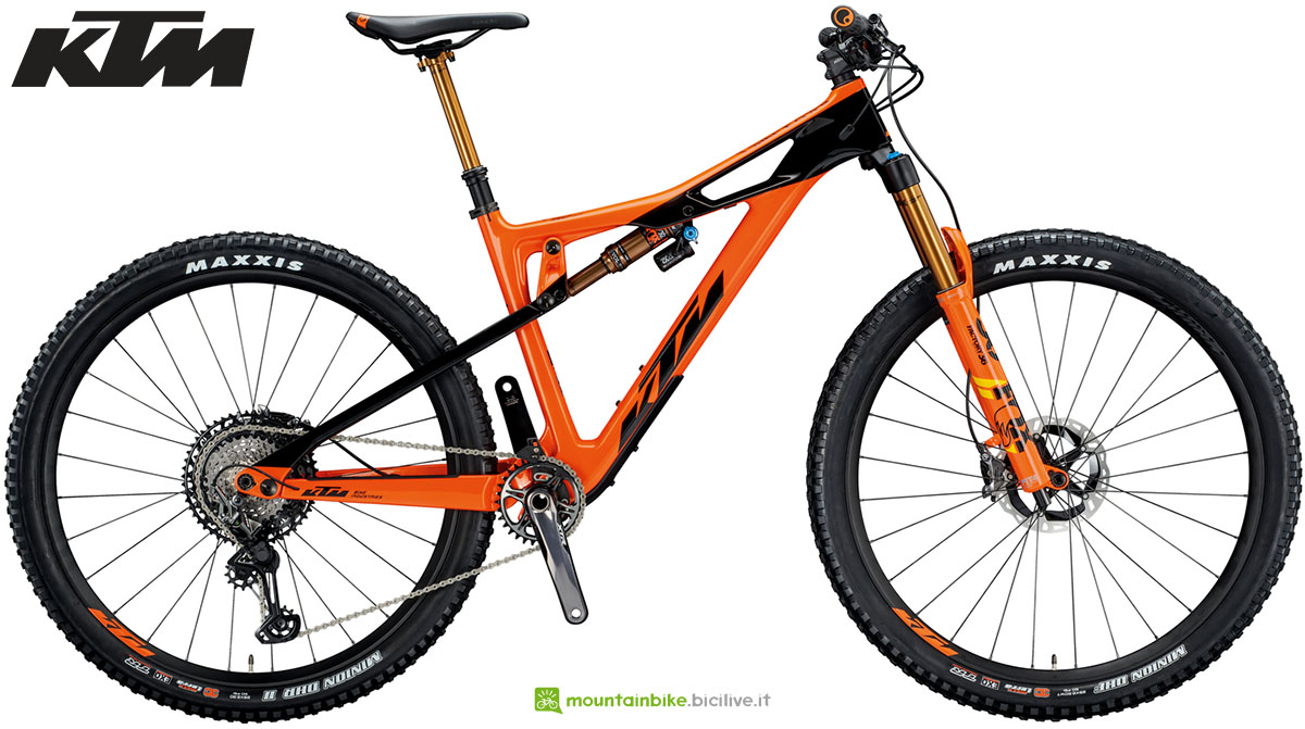 Una mtb full suspended KTM Prowler Sonic 2020