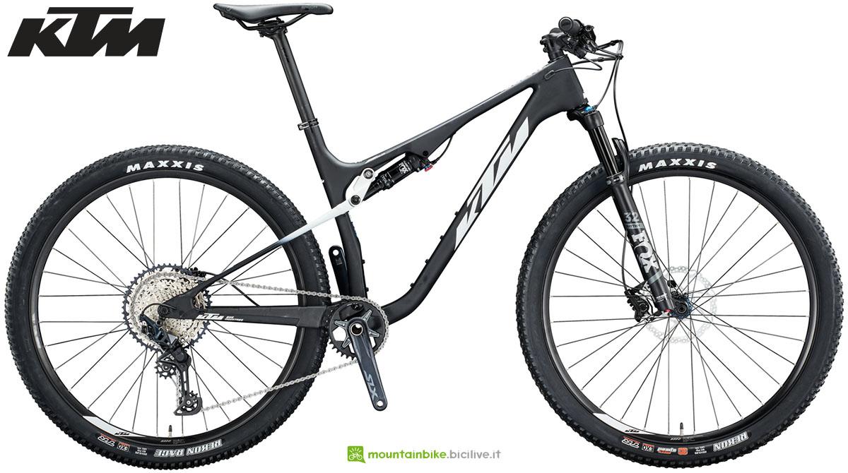 Una bici KTM Scarp Elite 2020