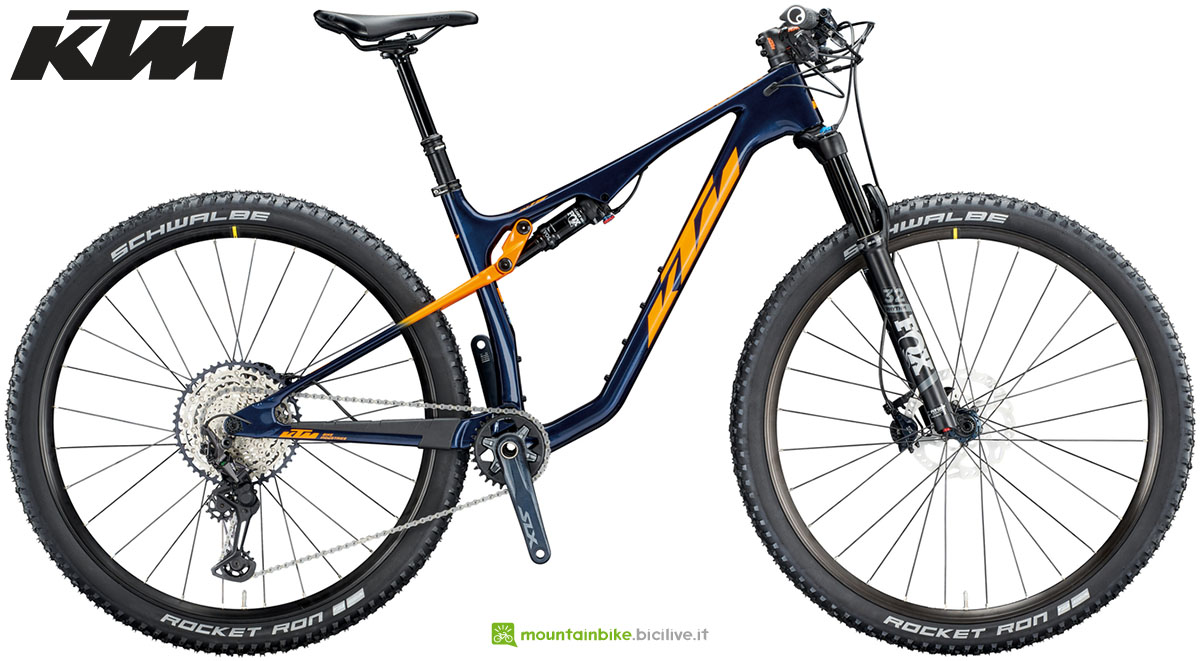 Una mtb full suspended KTM Scarp MT Glory 2020