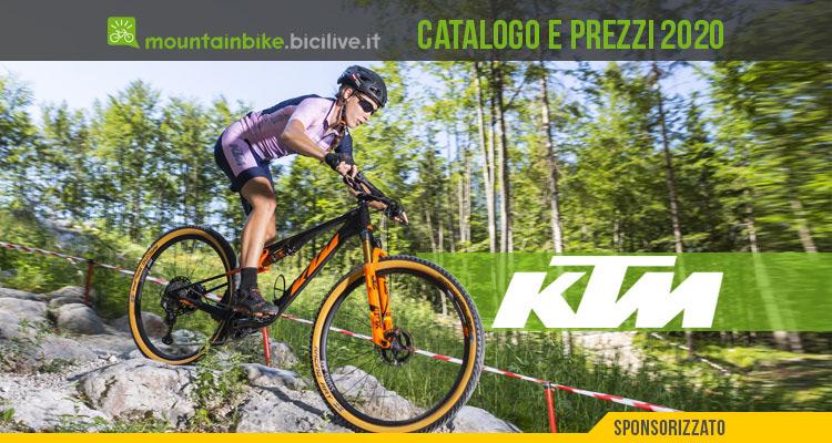 Le mountain bike KTM del 2020: catalogo e listino prezzi