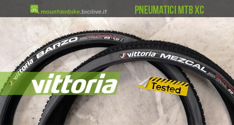 Il test degli pneumatici Vittoria Barzo e Mezcal