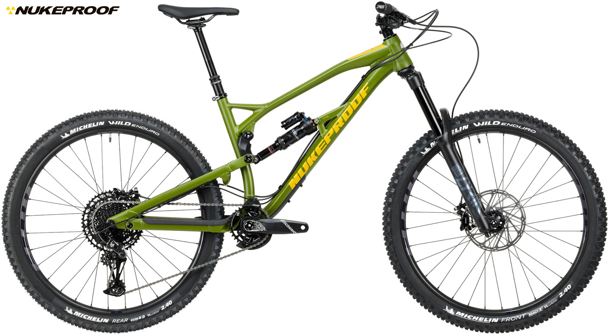 Una mountain bike full Nukeproof Mega 290 Expert 2020