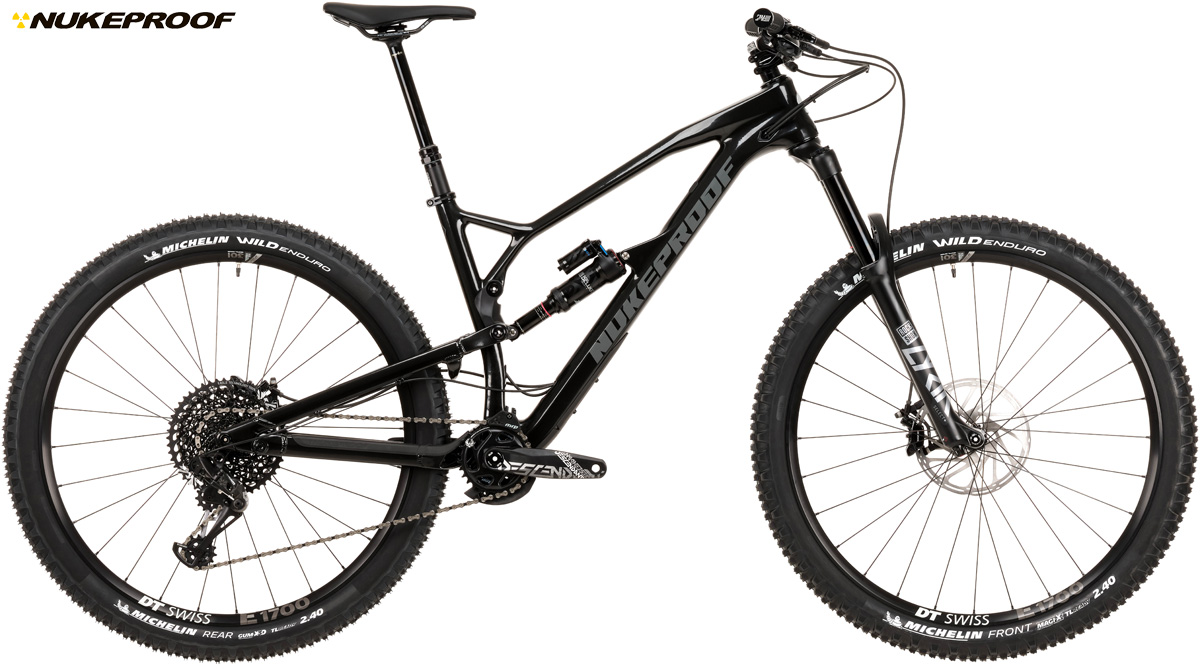 Una mountain bike full suspended Nukeproof Mega 290C Pro 2020