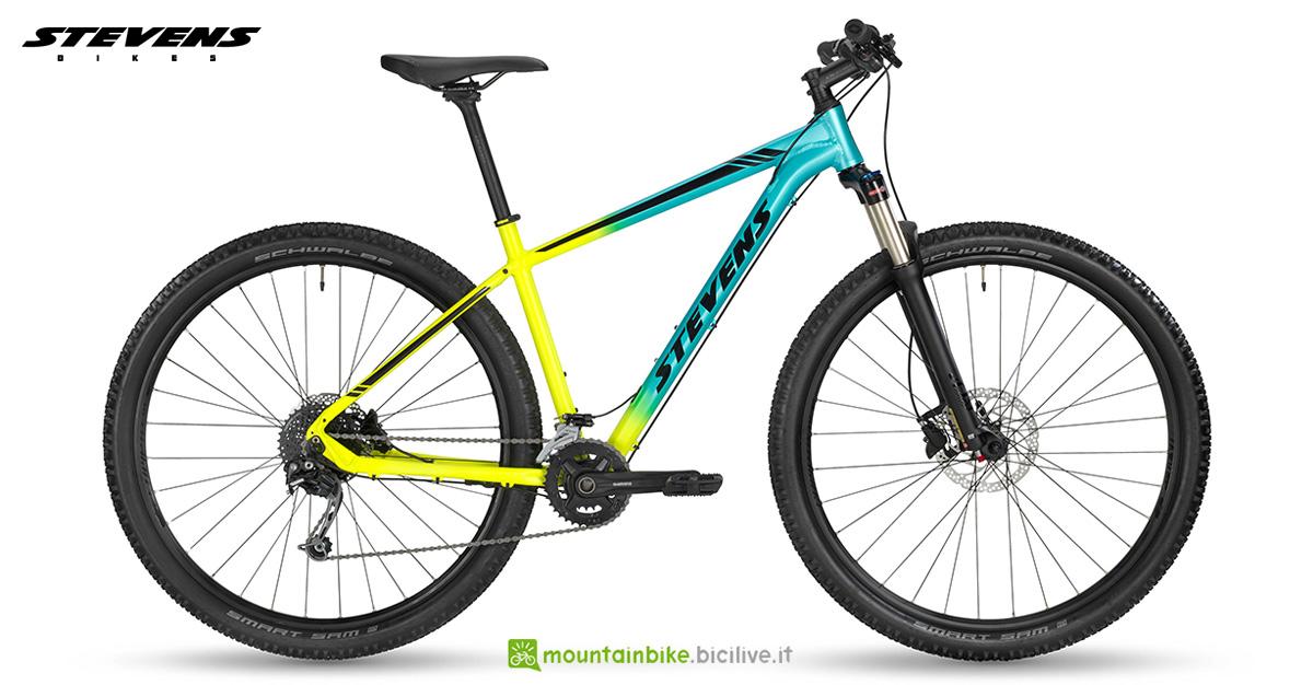 Una mountain bike Stevens Taniwha gamma 2020
