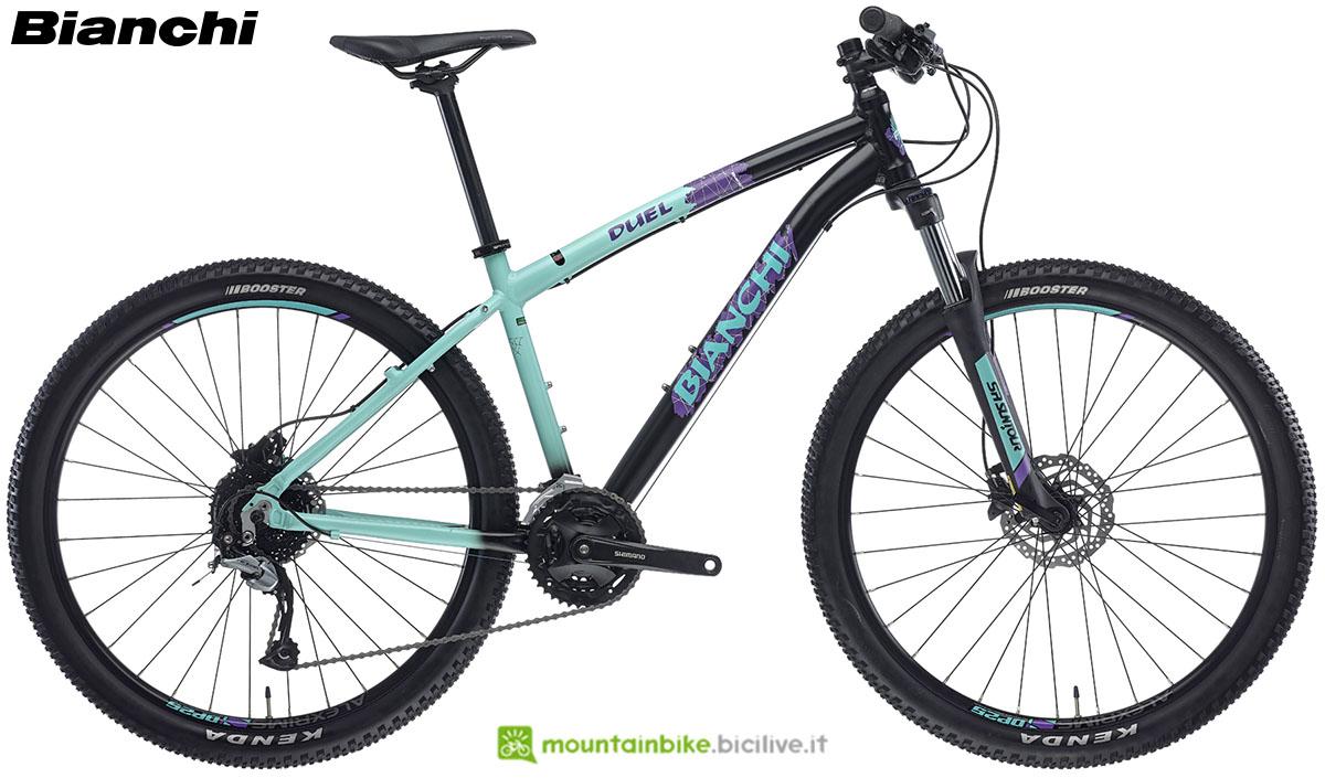 Una bici Bianchi Duel 27.S 2020