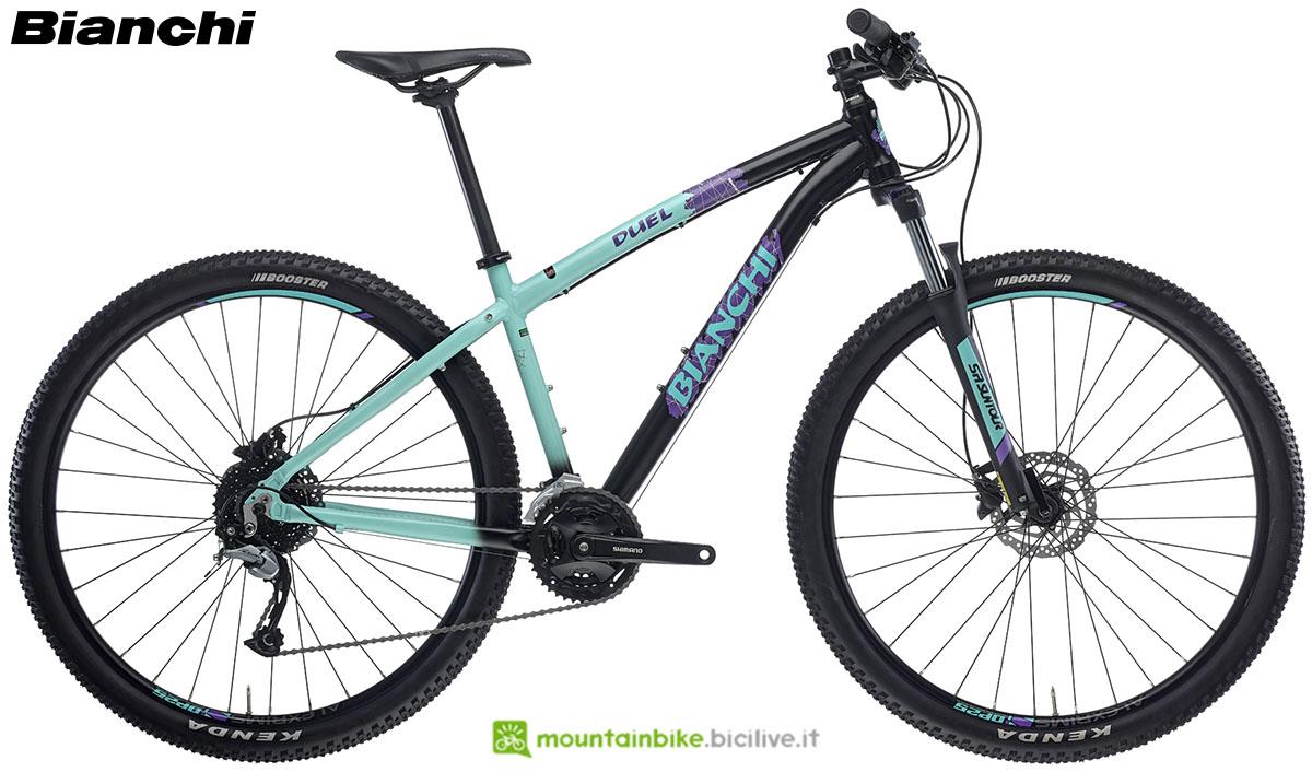 Una bici Bianchi Duel 29.S 2020