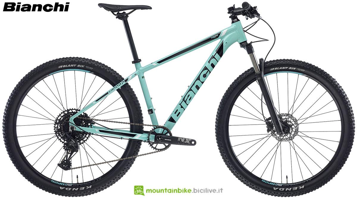 Una bici Bianchi Magma 9.S 2020
