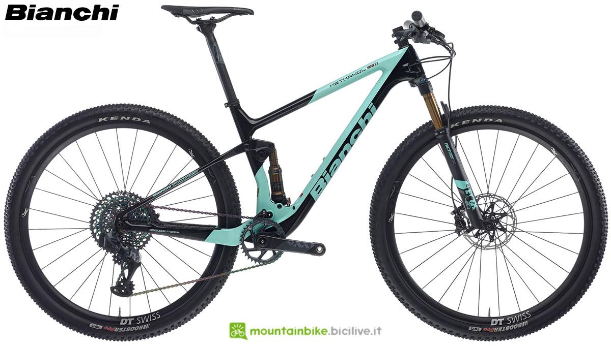 Una bici Bianchi Methanol CV FS 9.2 2020