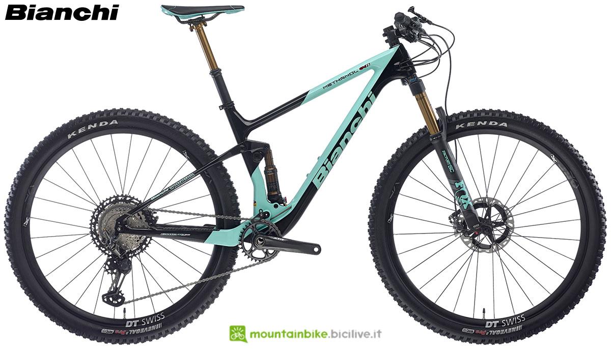 Una bici Bianchi Methanol CV FST 9.1 2020