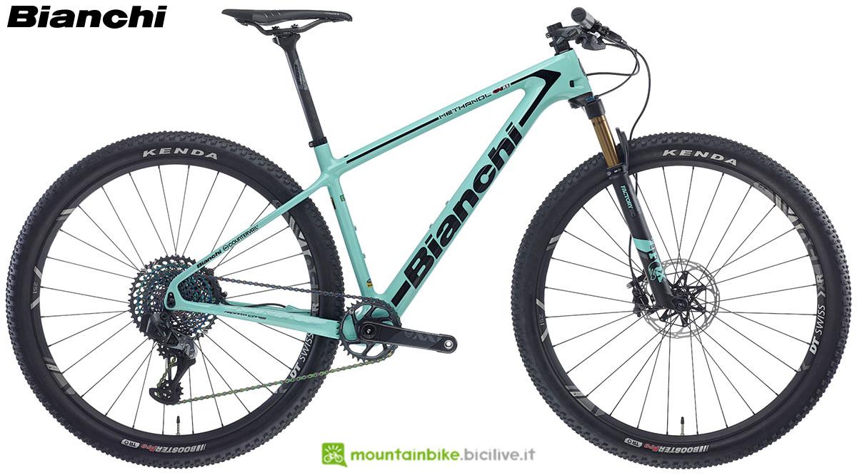Una bici Bianchi Methanol CV RS 9.1 2020