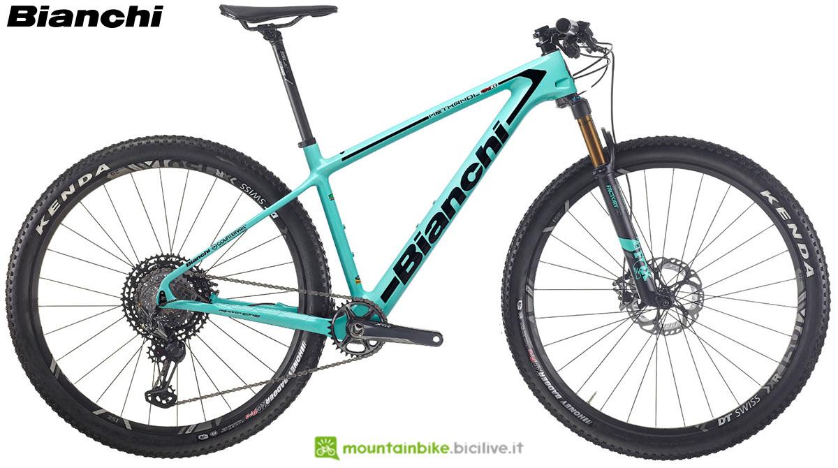 Una bici Bianchi Methanol CV RS 9.2 2020