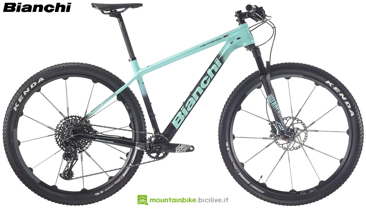 Una bici Bianchi Methanol CV S 9.2 2020