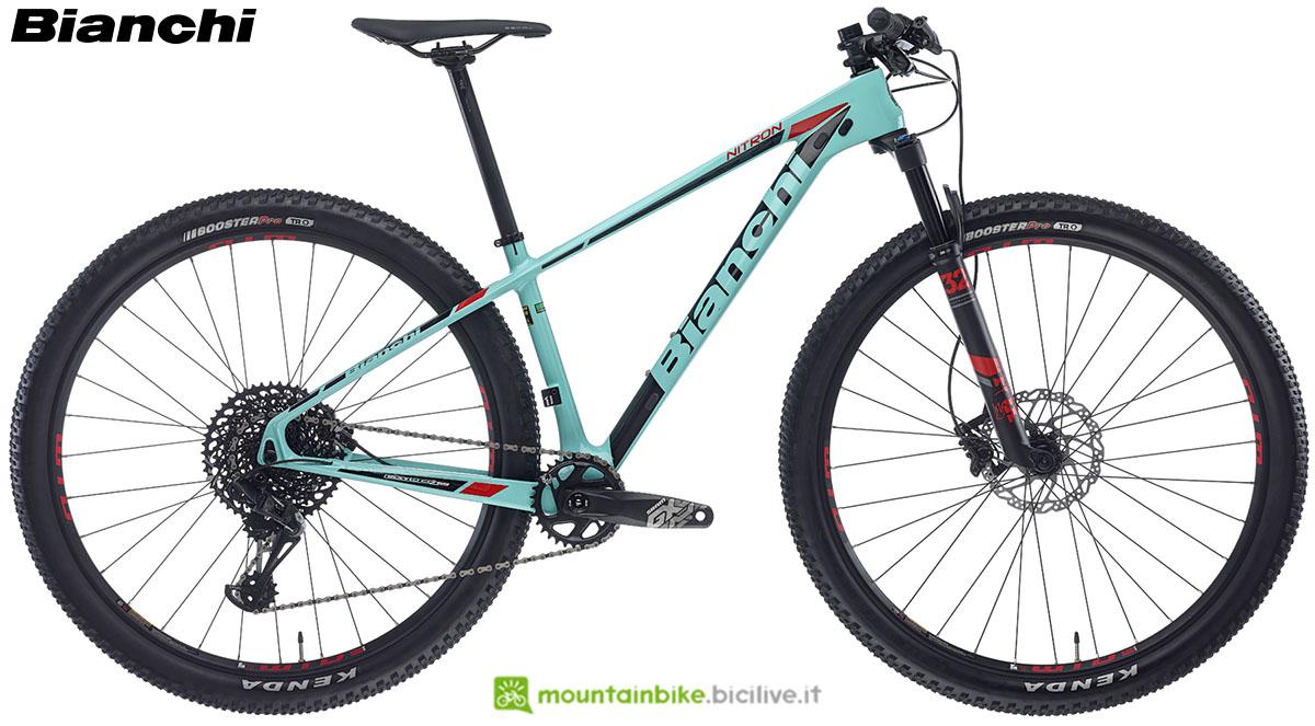 Una bici Bianchi Nitron 9.1 2020