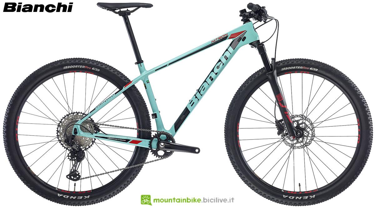 Una bici Bianchi Nitron 9.2 2020